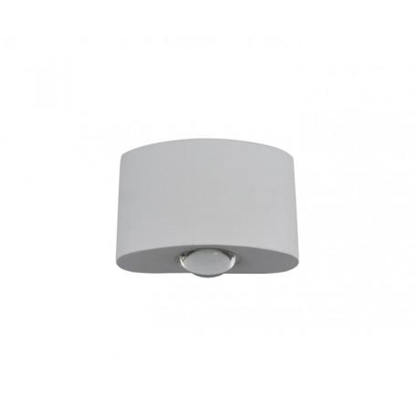 Настенный светодиодный светильник Kink Light Элеон 08571,01, IP65, LED 2W 4000K 270lm CRI>80, белый, металл