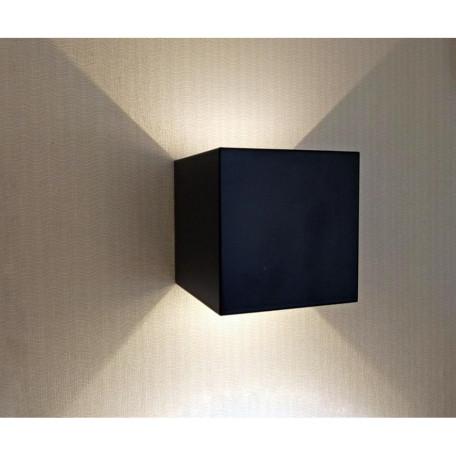 Настенный светодиодный светильник Kink Light Куб 08585,19(3000K), IP65 (теплый)