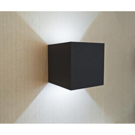 Настенный светодиодный светильник Kink Light Куб 08585,19(4000K), IP65 (дневной)