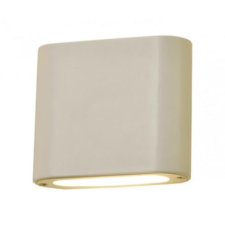 Настенный светодиодный светильник Kink Light Фигура 08589,01, LED 6W 4000K 540lm CRI>80, белый, металл