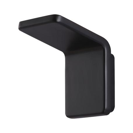 Настенный светодиодный светильник Kink Light Угол 08593,19, LED 10W 4000K 900lm CRI>80, черный, металл