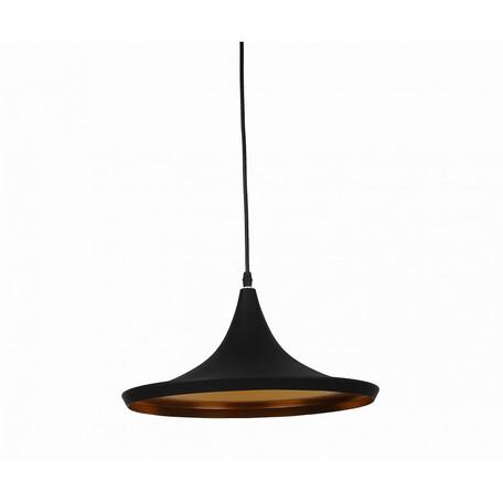Подвесной светильник Kink Light Дейзи 08346,19, 1xE27x40W, черный, металл
