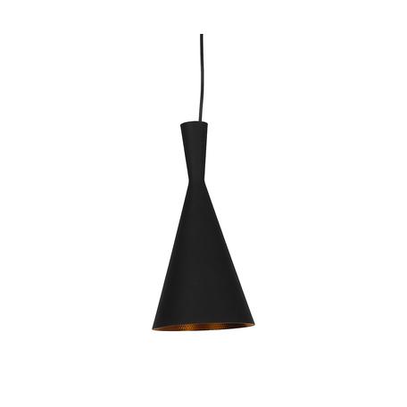 Подвесной светильник Kink Light Лима 08347,19, 1xE27x40W, черный, металл