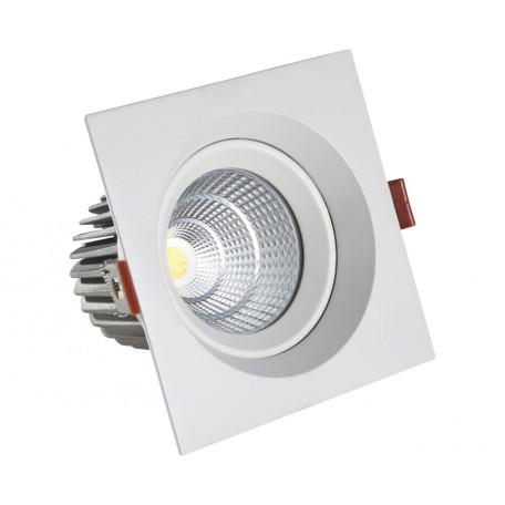 Встраиваемый светодиодный светильник Kink Light 2122, LED 7W 4000K 630lm CRI>80, металл