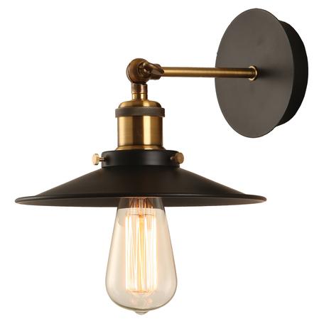 Настенный светильник с регулировкой направления света ST Luce Giuseppe SLD970.401.01, 1xE27x60W, черный, металл