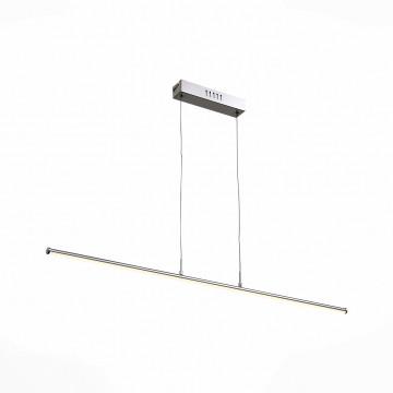 Подвесной светодиодный светильник ST Luce Geome SL914.103.01, LED 27W 4000K, хром, металл, металл с пластиком
