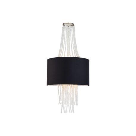 Бра Lucia Tucci illuminazione COSMOPOLITAN W2970.2 black, 2xE14x60W