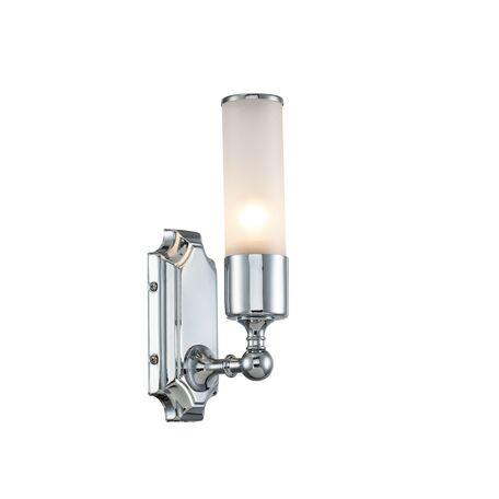 Настенный светильник Lucia Tucci Illuminazione VET W5850.1 chrome, IP44, 1xE27x60W