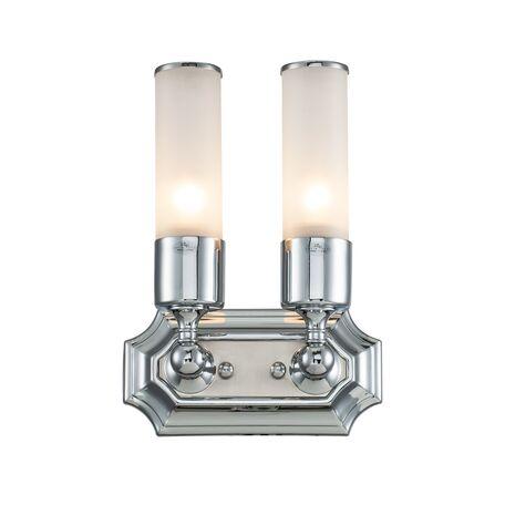 Настенный светильник Lucia Tucci Illuminazione VET W5850.2 chrome, IP44, 2xE27x60W