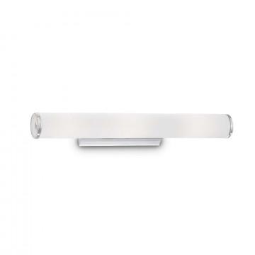 Настенный светильник Ideal Lux CAMERINO AP3 027098, 3xE14x40W, хром, белый, металл, стекло