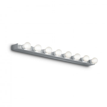 Настенный светильник Ideal Lux PRIVE' AP8 CROMO 045634, 8xE14x40W, хром, металл
