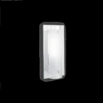 Настенный светильник Ideal Lux TUDOR AP1 051840, 1xE14x40W, хром, белый, металл, стекло