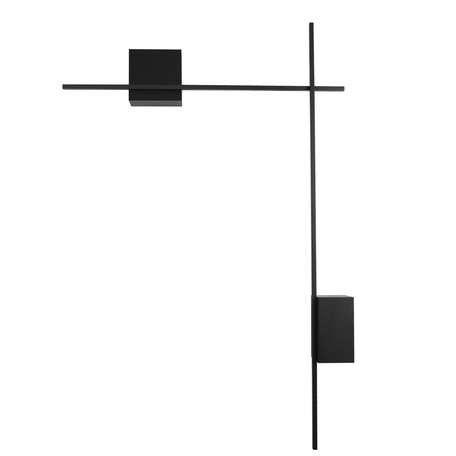 Настенный светодиодный светильник Odeon Light Hightech Bondi 4241/20WL, LED 20W 4000K 1400lm, черный, металл