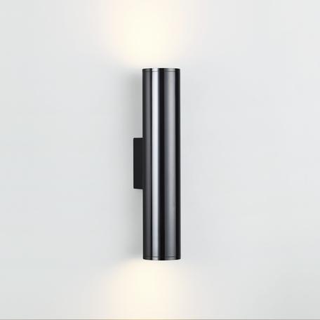 Настенный светильник Odeon Light Hightech Dario 4245/2WA, 2xE27x7W, черный, металл