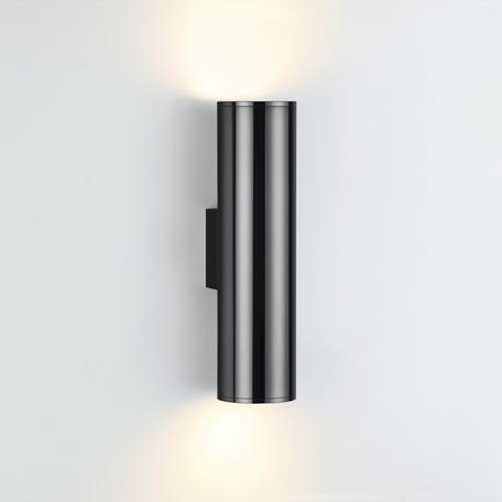 Настенный светильник Odeon Light Hightech Dario 4245/2WB, 1xE27x7W, черный хром, металл