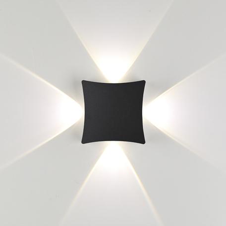 Настенный светодиодный светильник Odeon Light Hightech Balla 4252/4WL, IP54, LED 4W 4000K 1470lm, черный, металл