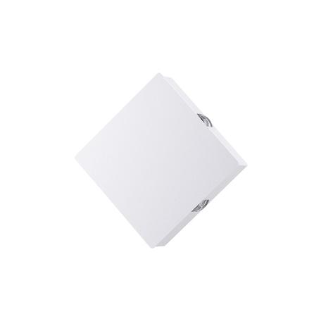 Настенный светодиодный светильник Odeon Light Hightech Vista 4258/8WL, LED 8W 3000K 444lm, белый, металл