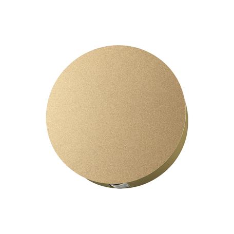 Настенный светодиодный светильник Odeon Light Hightech Beata 4266/4WL, LED 4W 3000K 156lm, матовое золото, металл