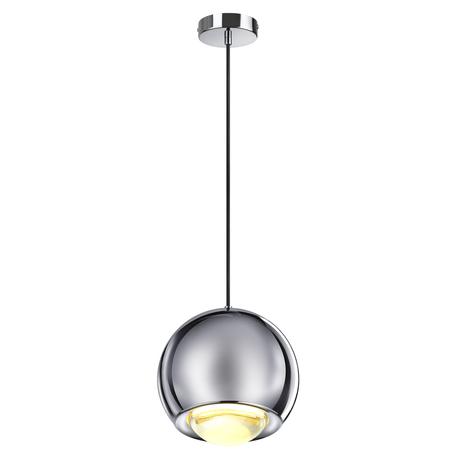 Подвесной светодиодный светильник Odeon Light L-Vision Mia 4228/12L, LED 12W 3000K 600lm, хром, металл