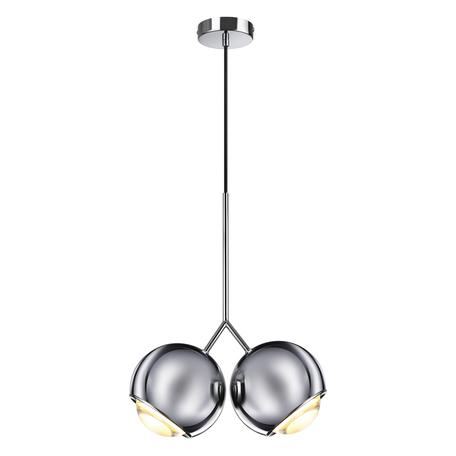 Подвесной светодиодный светильник Odeon Light L-Vision Mia 4228/12LA, LED 12W 3000K 600lm, хром, металл