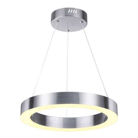 Подвесной светодиодный светильник Odeon Light L-Vision Brizzi 4244/25L, LED 25W 4000K 850lm, никель, металл