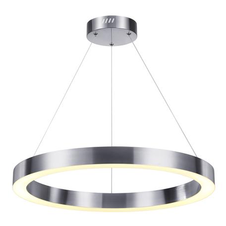 Подвесной светодиодный светильник Odeon Light L-Vision Brizzi 4244/35L, LED 35W 4000K 1465lm, никель, металл