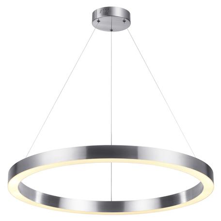 Подвесной светодиодный светильник Odeon Light L-Vision Brizzi 4244/45L, LED 45W 4000K 1800lm, никель, металл