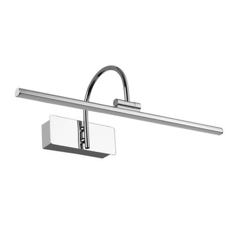 Настенный светильник для подсветки картин Mantra Paracuru 6380, хром, металл, пластик