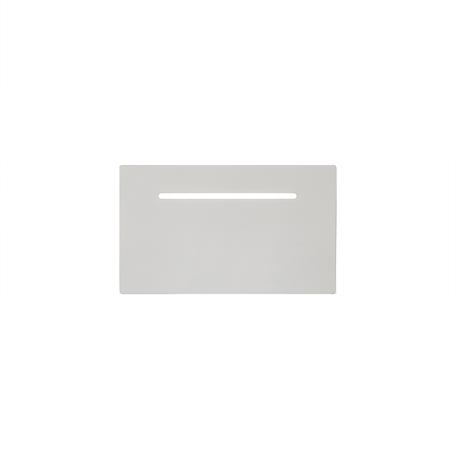 Настенный светильник Mantra Toja 6253, белый, металл, стекло