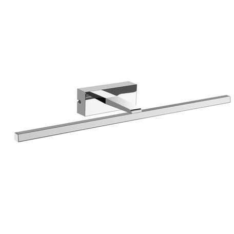 Настенный светильник Mantra Yaque 6362, IP44, хром, белый, металл, пластик