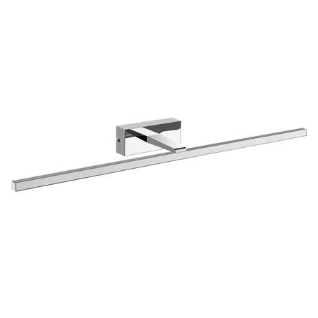 Настенный светильник Mantra Yaque 6363, IP44, хром, белый, металл, пластик