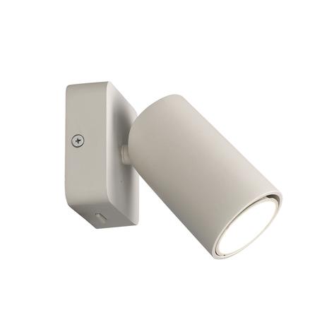 Настенный светильник с регулировкой направления света Mantra Sal 6284, белый, металл