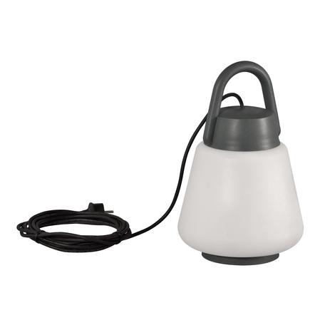 Садовый светильник Mantra Kinke 6213, IP65, серый, белый, металл, пластик