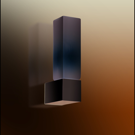 Бра Odeon Light Drops Wass 2136/1W, IP44, 1xG9x40W, хром, белый, металл, стекло