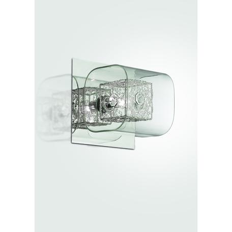 Настенный светильник Odeon Light Forta 2006/1W, 1xG9x40W, хром, прозрачный, металл, стекло, хрусталь