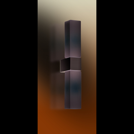 Настенный светильник Odeon Light Wass 2136/2W, IP44, 2xG9x40W, хром, белый, металл, стекло
