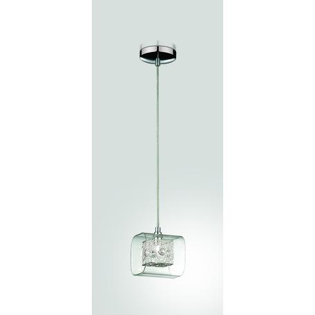 Подвесной светильник Odeon Light Forta 2006/1, 1xG9x40W, хром, прозрачный, металл, стекло, хрусталь