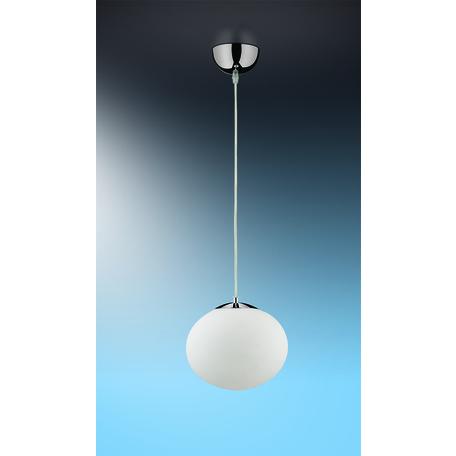 Подвесной светильник Odeon Light Rolet 2044/1, 1xE14x40W, хром, белый, металл, стекло