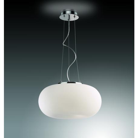Подвесной светильник Odeon Light Classic Pati 2205/3B, 3xE27x60W, хром, белый, металл, стекло
