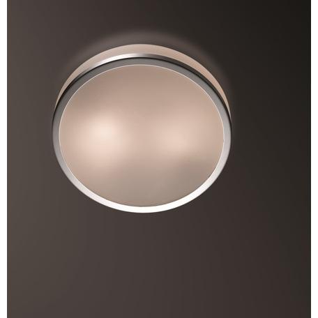Потолочный светильник Odeon Light Yun 2177/1C, IP44, 1xE27x60W, хром, стекло