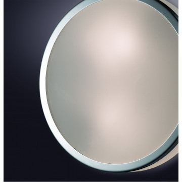 Потолочный светильник Odeon Light Yun 2177/3C, IP44, 3xE27x40W, хром, стекло