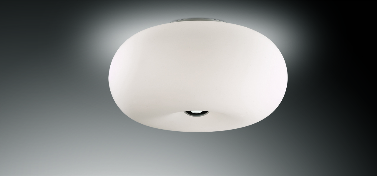 Потолочный светильник Odeon Light Pati 2205/3C, 3xE27x60W, хром, белый, металл, стекло - фото 1