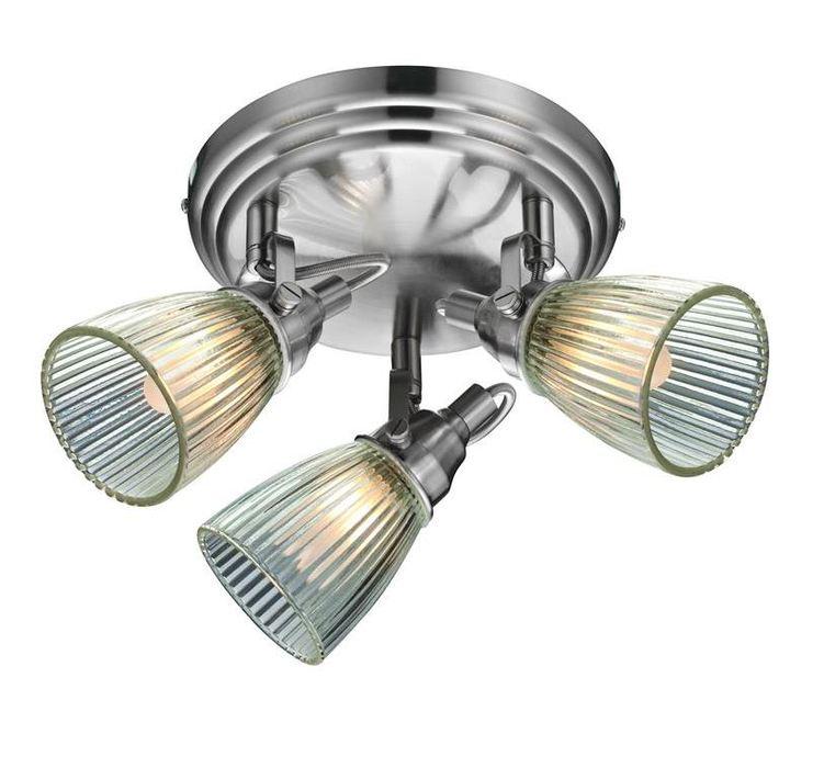 Потолочный светильник с регулировкой направления света Markslojd lada 104865, IP44, 3xG9x40W - фото 1
