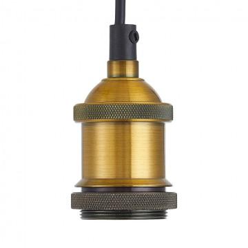 Люстра-паук Citilux Эдисон CL451091, 9xE27x75W, бронза, венге, металл - миниатюра 2