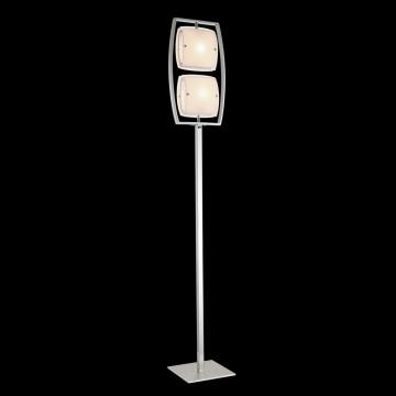 Торшер Citilux Берген CL161921, 2xE27x75W, хром, белый, металл, стекло - миниатюра 2