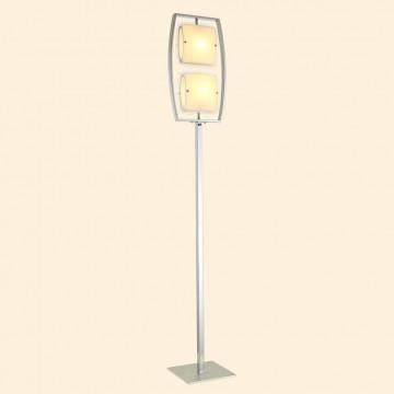 Торшер Citilux Берген CL161921, 2xE27x75W, хром, белый, металл, стекло - миниатюра 3