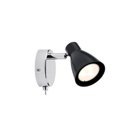 Настенный светильник с регулировкой направления света Paulmann 2Simple 66557, 1xGU10x3,5W, металл