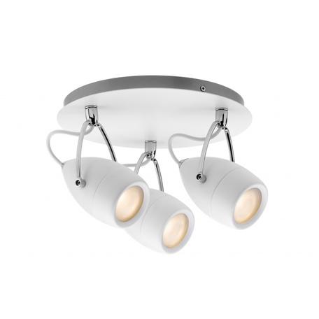 Потолочная люстра с регулировкой направления света Paulmann Drop 66716, IP44, 3xGU10x10W, металл