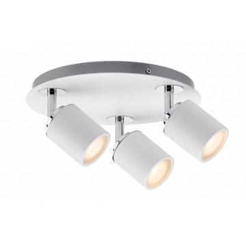 Потолочная люстра с регулировкой направления света Paulmann Tube 66719, IP44, 3xGU10x10W, металл