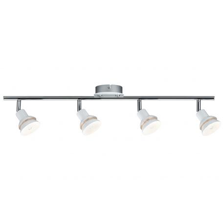 Потолочный светильник с регулировкой направления света Paulmann Double 66621, 4xG9x2,2W, металл